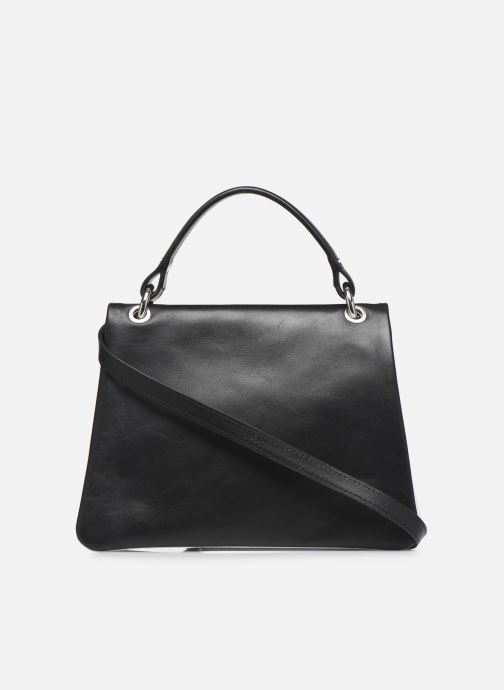 Handtaschen Behno Hunter Mini Flip-Flop Bag schwarz ansicht von vorne