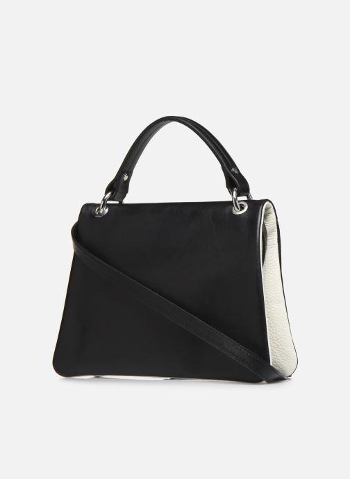 Handtaschen Behno Hunter Mini Flip-Flop Bag schwarz ansicht von rechts