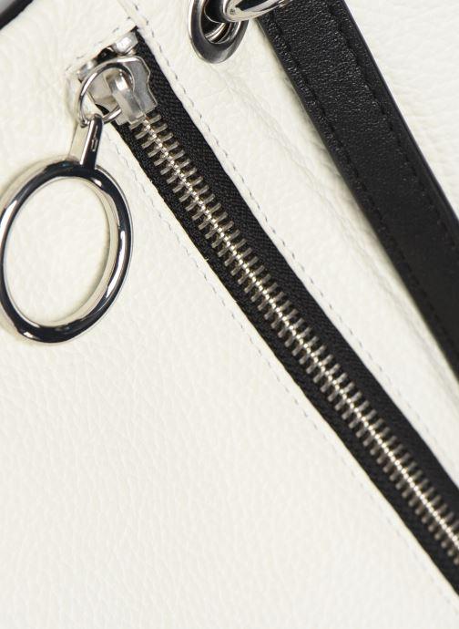 Handtaschen Behno Hunter Mini Flip-Flop Bag schwarz ansicht von hinten