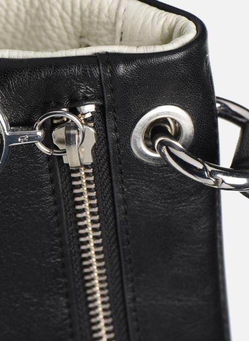 Handtaschen Behno Hunter Mini Flip-Flop Bag schwarz ansicht von links
