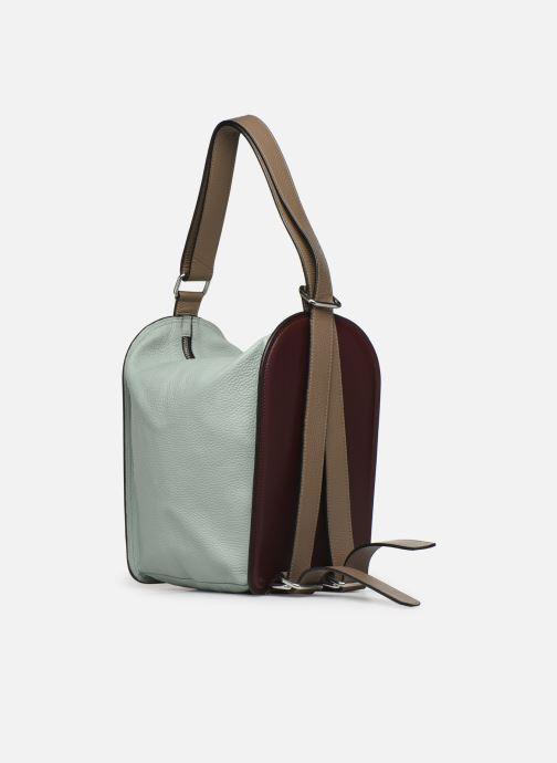 Handtaschen Behno Sherry Bag Pack weinrot ansicht von vorne