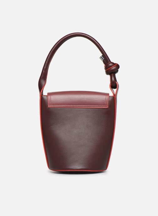 Bolsos de mano Behno Helen Mini Bucket Bag Vino vista de frente