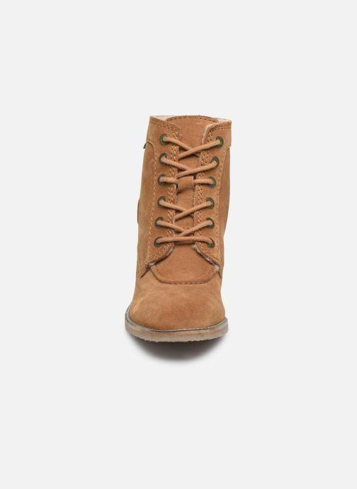 Stiefeletten & Boots Kickers MYLEGEND braun schuhe getragen