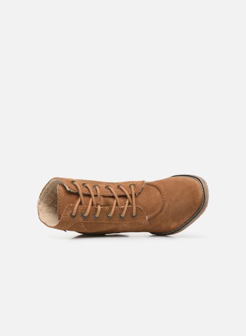 Stiefeletten & Boots Kickers MYLEGEND braun ansicht von links