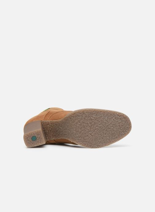 Stiefeletten & Boots Kickers MYLEGEND braun ansicht von oben