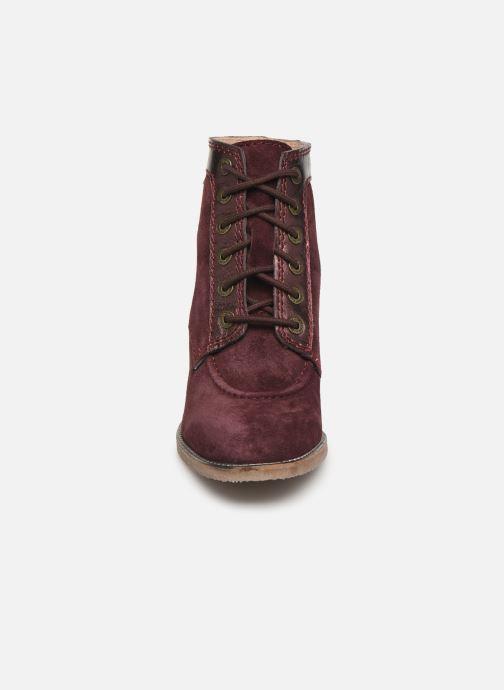 Boots en enkellaarsjes Kickers MYLEGEND Paars model