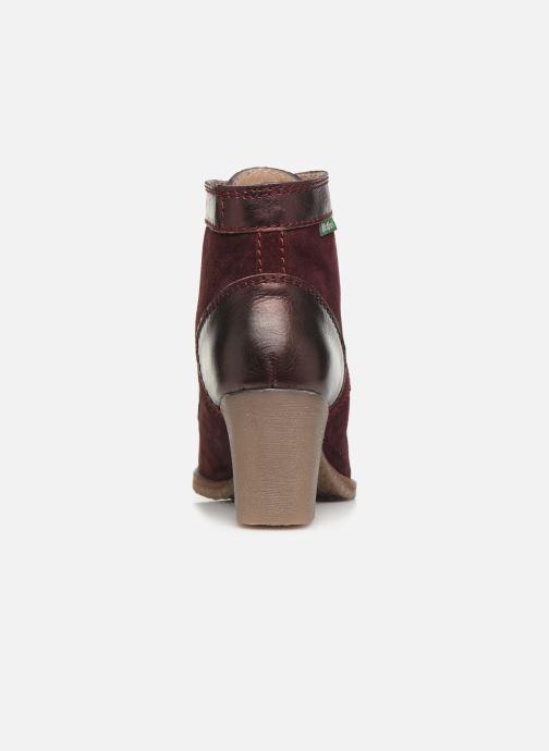 Boots en enkellaarsjes Kickers MYLEGEND Paars rechts