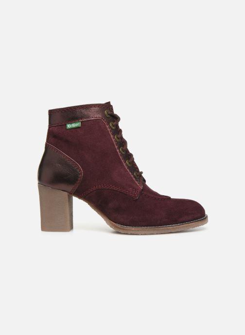 Boots en enkellaarsjes Kickers MYLEGEND Paars achterkant