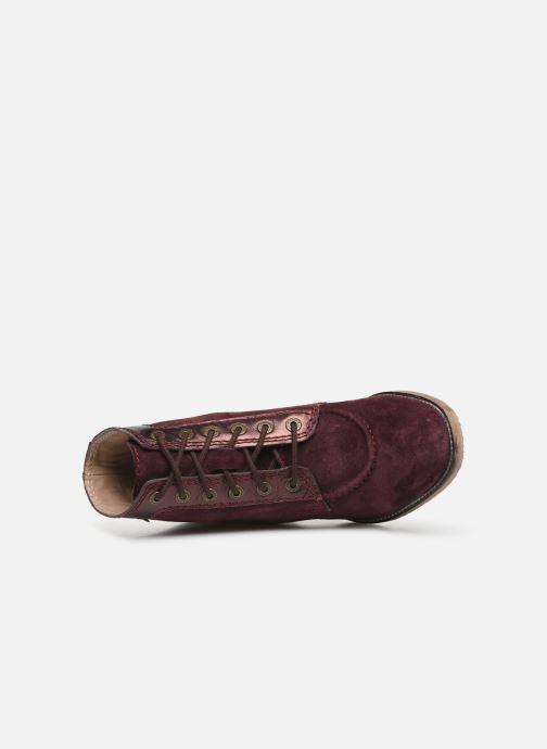 Kickers MYLEGEND (Violet) Bottines et boots chez Sarenza