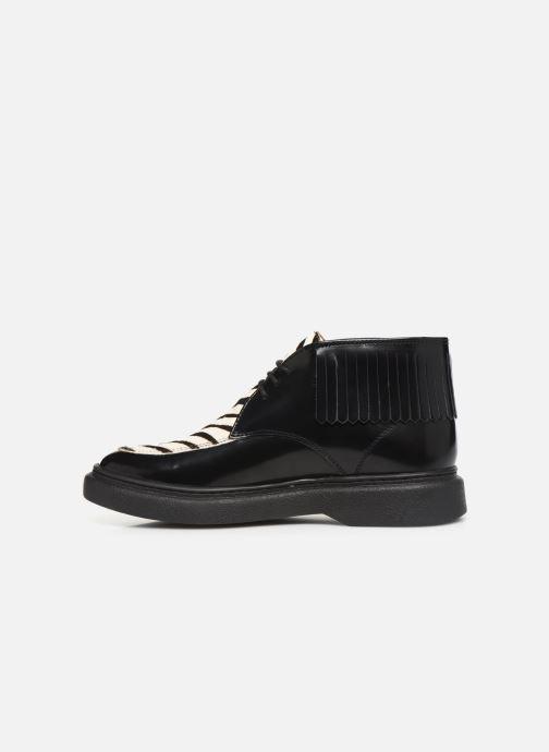 Bottines et boots Kickers ORIGAME Noir vue face
