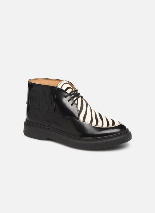 Bottines et boots Kickers ORIGAME Noir vue détail/paire