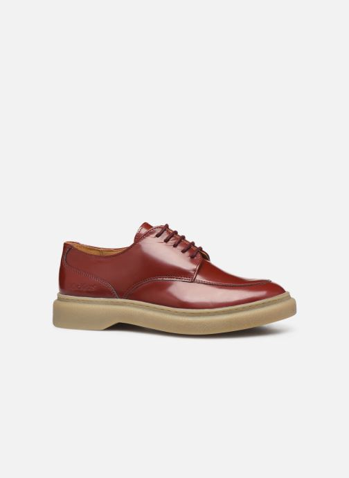 Chaussures à lacets Kickers ORIGAMI Rouge vue derrière