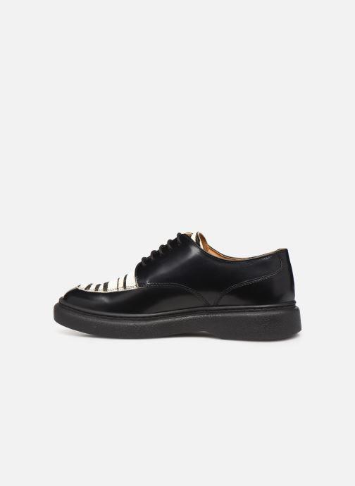 Chaussures à lacets Kickers ORIGAMI Noir vue face
