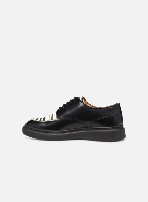Zapatos con cordones Kickers ORIGAMI Negro vista de frente