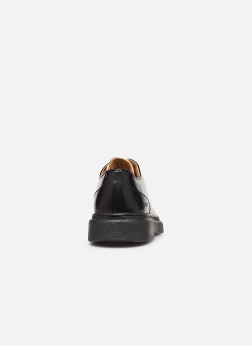 Zapatos con cordones Kickers ORIGAMI Negro vista lateral derecha