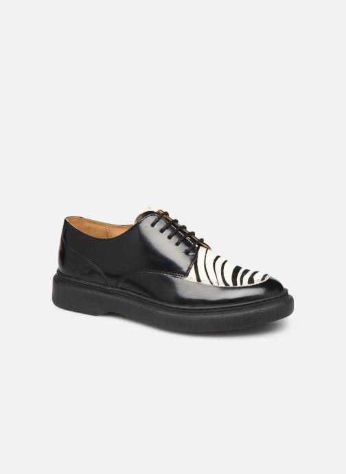 Zapatos con cordones Kickers ORIGAMI Negro vista de detalle / par
