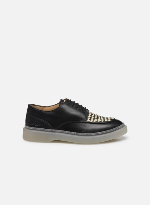 Chaussures à lacets Kickers ORIGAMI Noir vue derrière