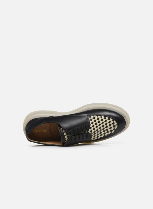 Chaussures à lacets Kickers ORIGAMI Noir vue gauche