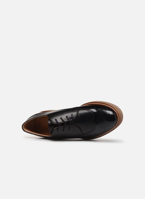 Zapatos con cordones Kickers OXANY F Negro vista lateral izquierda
