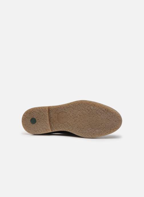 Zapatos con cordones Kickers OXANY F Negro vista de arriba