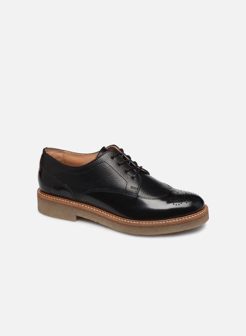 Zapatos con cordones Kickers OXANY F Negro vista de detalle / par