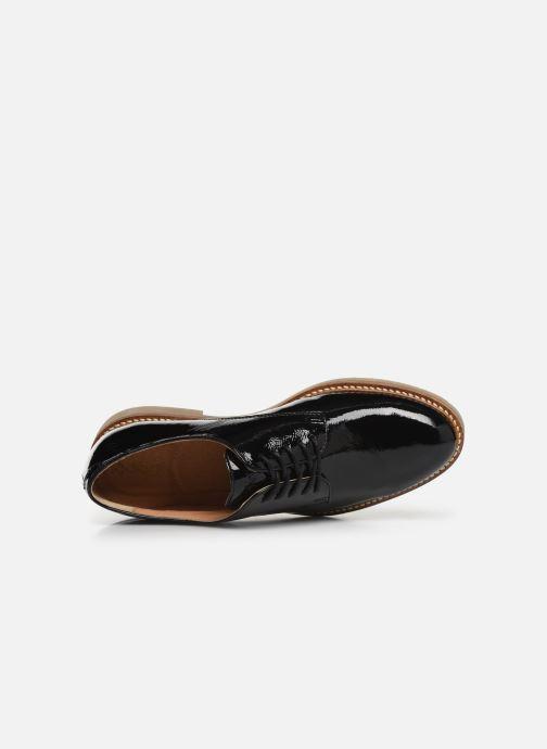 Zapatos con cordones Kickers OXFORK F Negro vista lateral izquierda