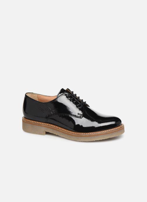 Zapatos con cordones Kickers OXFORK F Negro vista de detalle / par