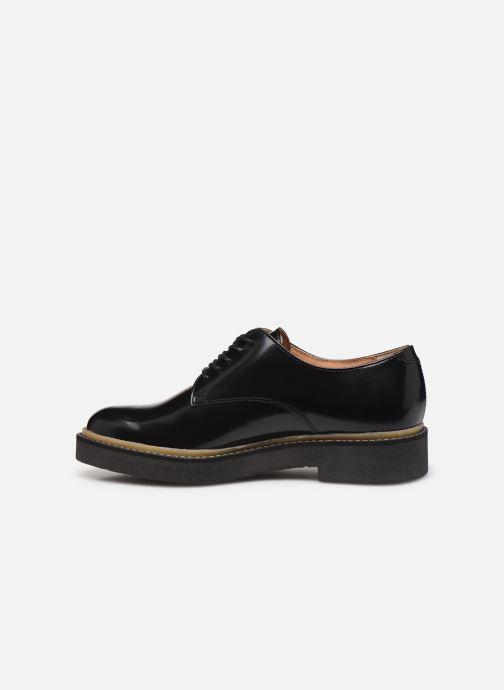 Chaussures à lacets Kickers OXFORK F Noir vue face