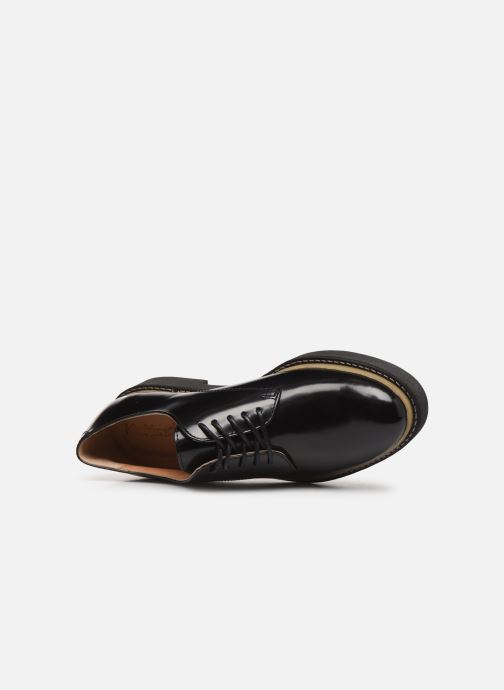 Chaussures à lacets Kickers OXFORK F Noir vue gauche