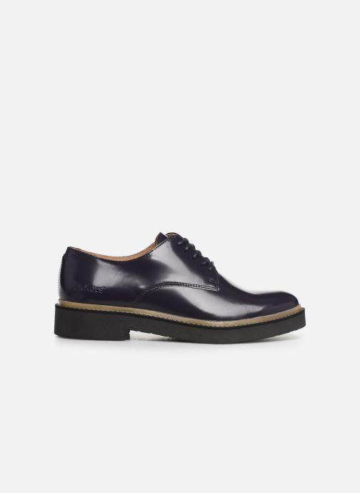 Zapatos con cordones Kickers OXFORK F Azul vistra trasera