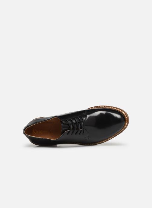 Chaussures à lacets Kickers OXYBY Noir vue gauche