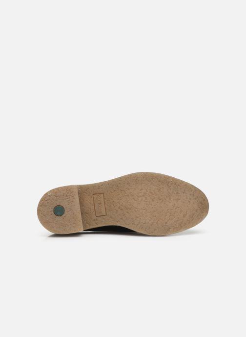 Chaussures à lacets Kickers OXYBY Noir vue haut