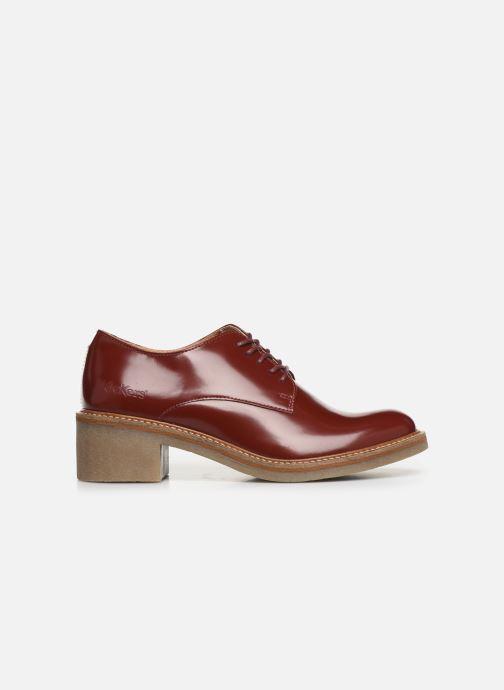 Chaussures à lacets Kickers OXYBY Rouge vue derrière
