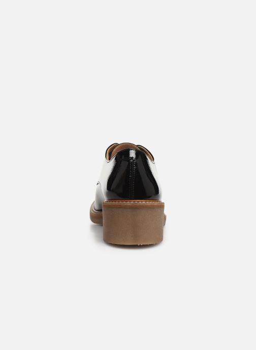 Zapatos con cordones Kickers OXYBY Negro vista lateral derecha