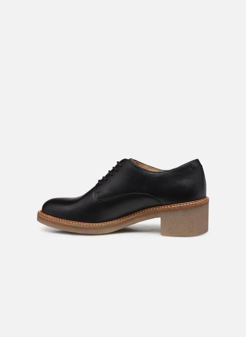 Zapatos con cordones Kickers OXYBY Negro vista de frente