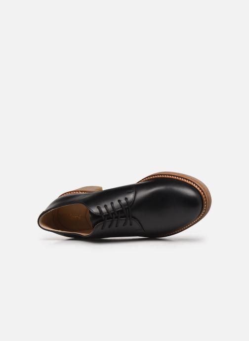Zapatos con cordones Kickers OXYBY Negro vista lateral izquierda