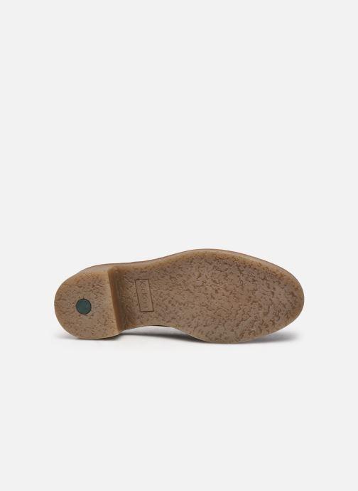 Zapatos con cordones Kickers OXYBY Negro vista de arriba