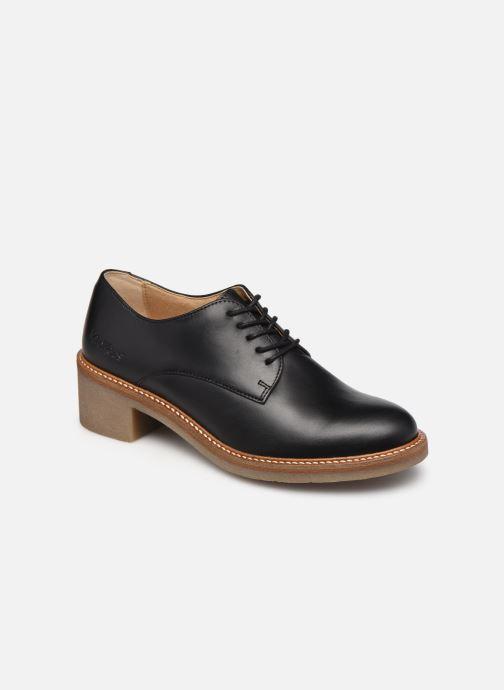 Zapatos con cordones Kickers OXYBY Negro vista de detalle / par