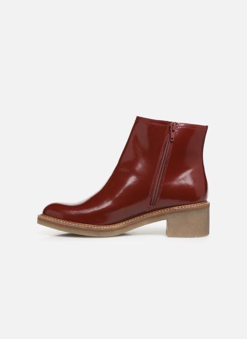 Bottines et boots Kickers OXYMORA Rouge vue face