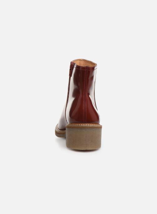 Bottines et boots Kickers OXYMORA Rouge vue droite