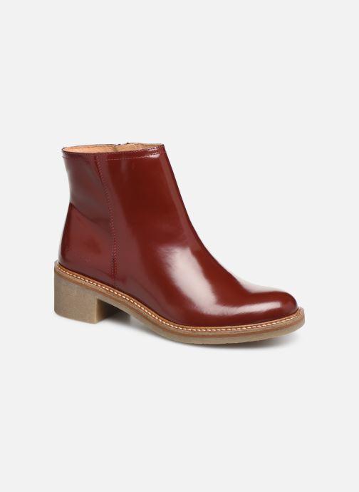 Bottines et boots Kickers OXYMORA Rouge vue détail/paire