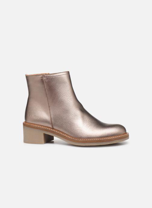Bottines et boots Kickers OXYMORA Or et bronze vue derrière
