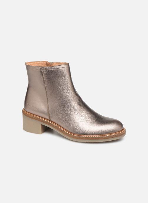 Bottines et boots Kickers OXYMORA Or et bronze vue détail/paire