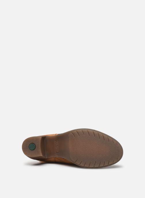 Stiefel Kickers PAOLINA braun ansicht von oben