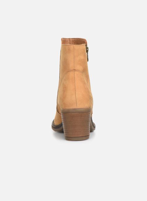 Bottines et boots Kickers PHILEMONA Jaune vue droite