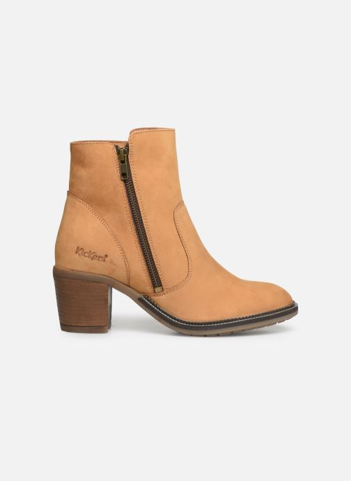 Bottines et boots Kickers PHILEMONA Jaune vue derrière