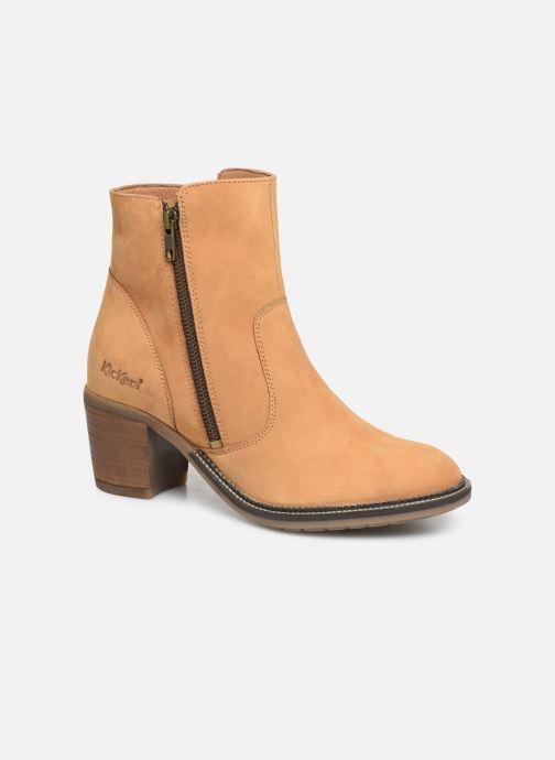 Bottines et boots Kickers PHILEMONA Jaune vue détail/paire