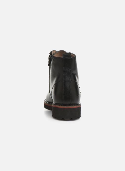 Bottines et boots Kickers RUBYLACE Noir vue droite