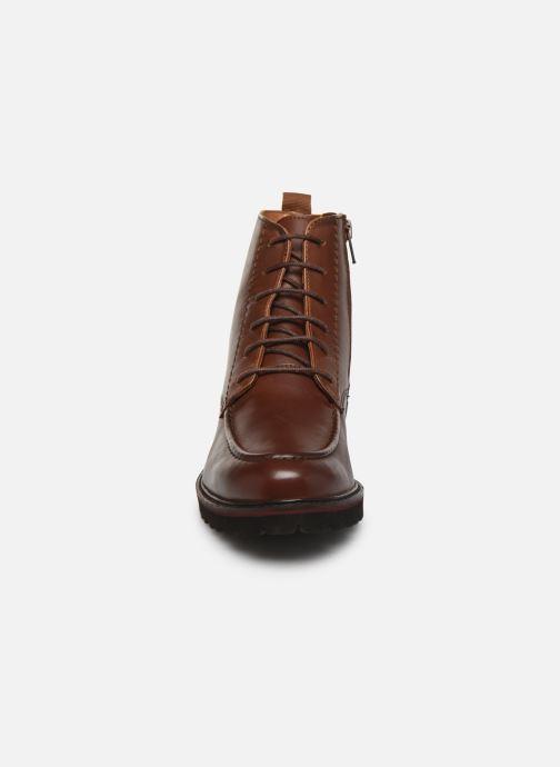 Boots en enkellaarsjes Kickers RUBYLACE Bruin model