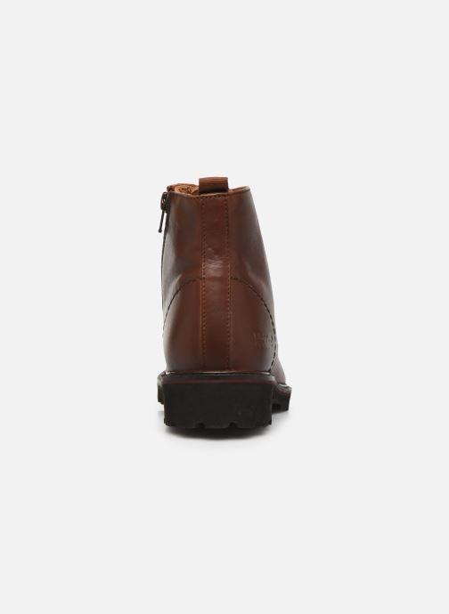 Boots en enkellaarsjes Kickers RUBYLACE Bruin rechts